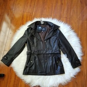 Emporio & Co Leather Jacket New